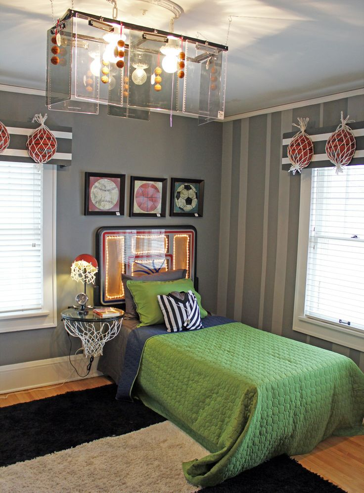 70 best images about Sports bedroom ideas on Pinterest