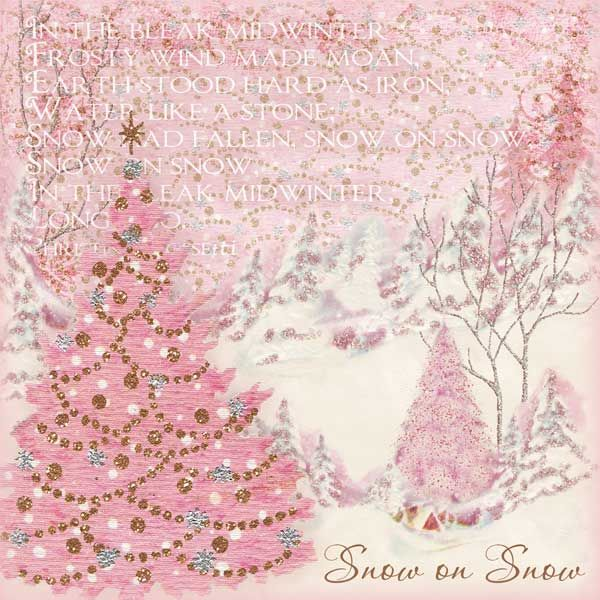 1000 Ideas About Vintage Pink Christmas On Pinterest