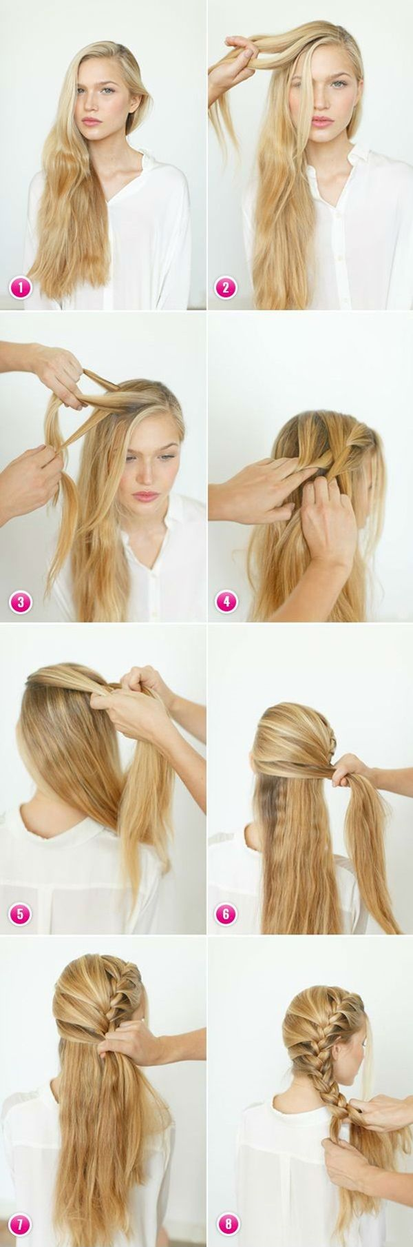 25 Best Ideas About Fast Hairstyles On Pinterest Fast Easy