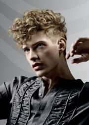 men curly hairstyles ideas