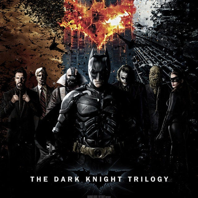 Dark Knight Falls Wallpaper Dark Knight Trilogy Poster T V Shows Movies