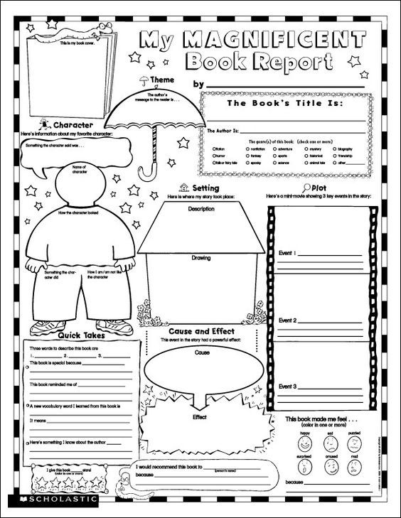 25+ best ideas about Book report templates on Pinterest