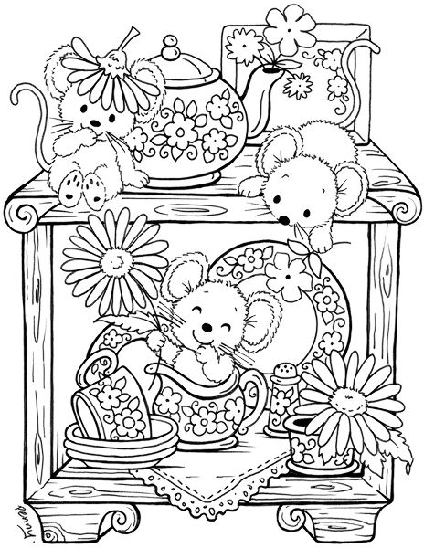282 best images about coloring pages for adults on