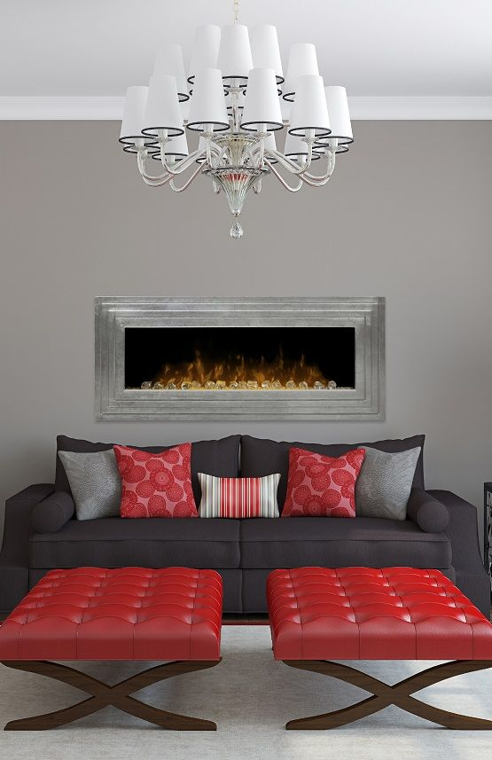 57 best images about Living Room Electric Fireplaces on