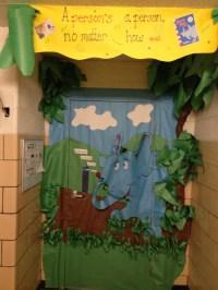 Horton Hears a Who classroom door decor. | Dr Seuss class ...