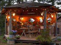 Top 25+ best Rustic Outdoor Kitchens ideas on Pinterest ...