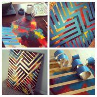 The 25+ best ideas about Spray Paint Art on Pinterest