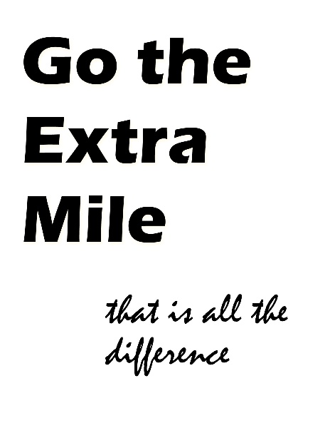 22 best images about Going the extra mile on Pinterest