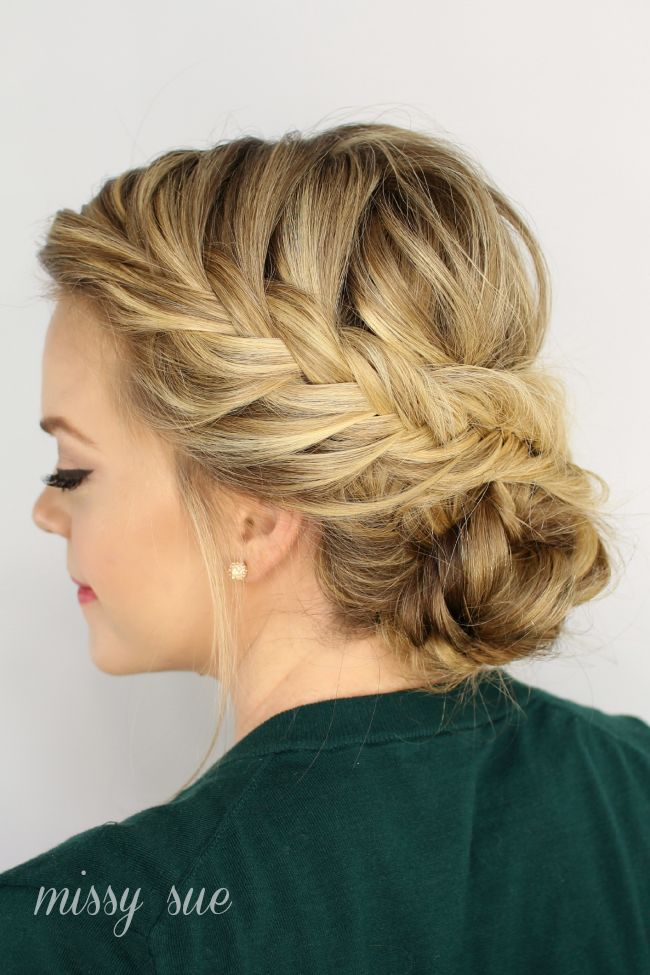 25 Best Ideas About French Braid Updo On Pinterest Braided Updo