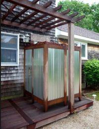 rustic outdoor showers - Bing images   Outdoor Showers ...