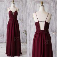 1000+ ideas about Wine Bridesmaid Dresses on Pinterest ...