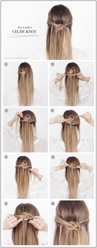 DIY: celtic knot | Awesome Hair, Makeup and Nails ...