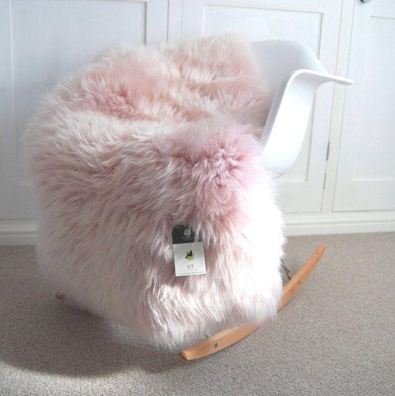 pink fluffy rug bedroom Best 25+ Sheepskin rug ideas on Pinterest | White