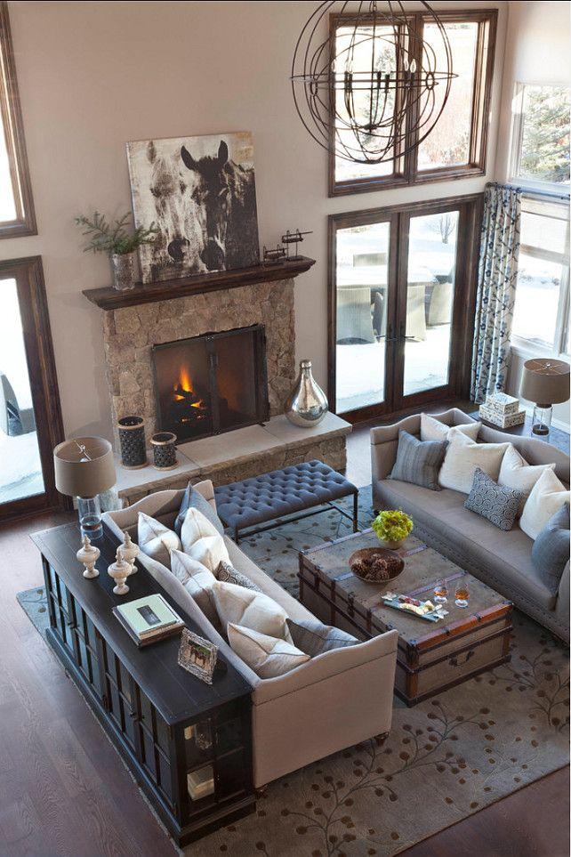Furniture Layout. Great Living Room Furniture Layout. #FurnitureLayout Ashley Campbell Interior Design