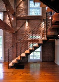 17+ best images about Exposed Brick Staircase on Pinterest ...