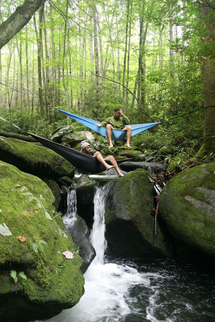 ENO DoubleNest Hammock RedCharcoal  Sleep Campers and In nature