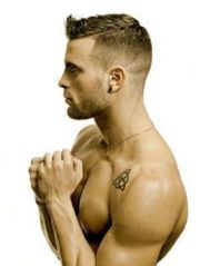 white men fade haircuts