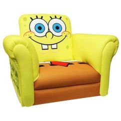 Sofa Bed Plus Recliner With Ottoman To Make Nickelodeon - Spongebob Squarepants Deluxe Rocking Chair ...