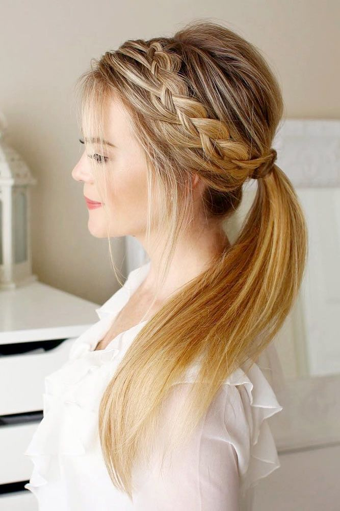 25 Best Ideas About Easy Long Hairstyles On Pinterest How To