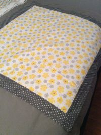 Self-binding flannel receiving blanket. | Baby stuff ...