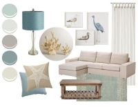 Color Inspiration: Cool Coastal Palette | Coastal Colors ...