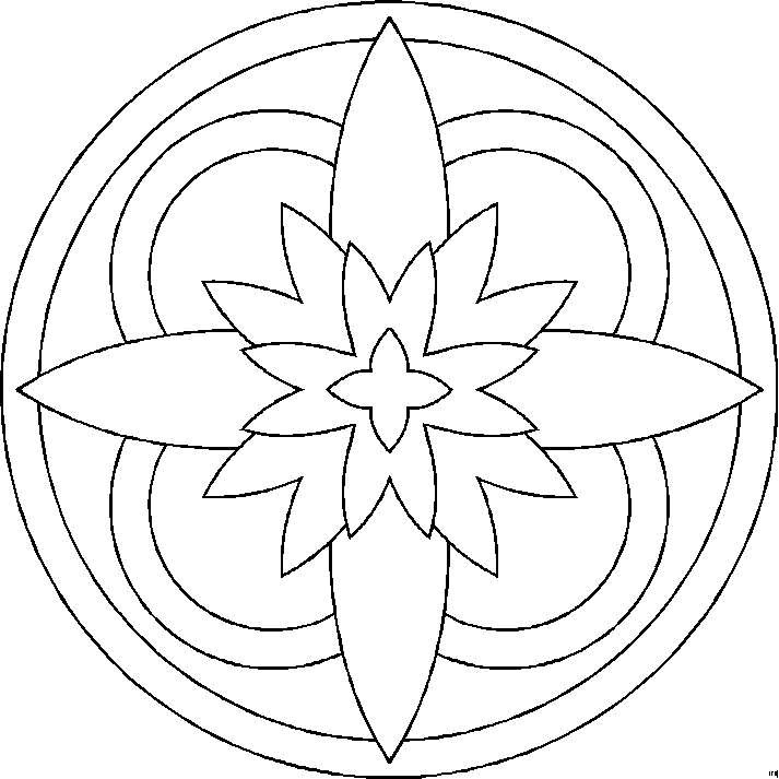 Best Of Lotus Flower Mandala Coloring Pages Design