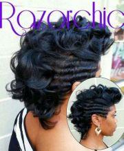 black hair mohawk ideas