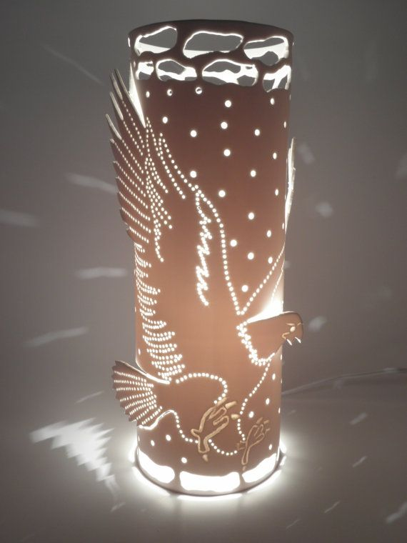 Table Eagle Lamp Accent Lamp Lighting Eagle Bird By