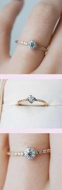 Best 25+ Dainty engagement rings ideas on Pinterest ...