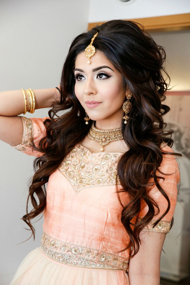 25 best ideas about Indian wedding hairstyles on