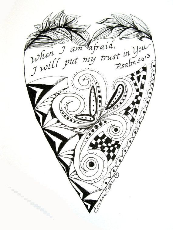 17 Best images about Zentangle Scripture on Pinterest