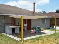 patio cover. awning/ tarp for shade. DIY | Yard ...