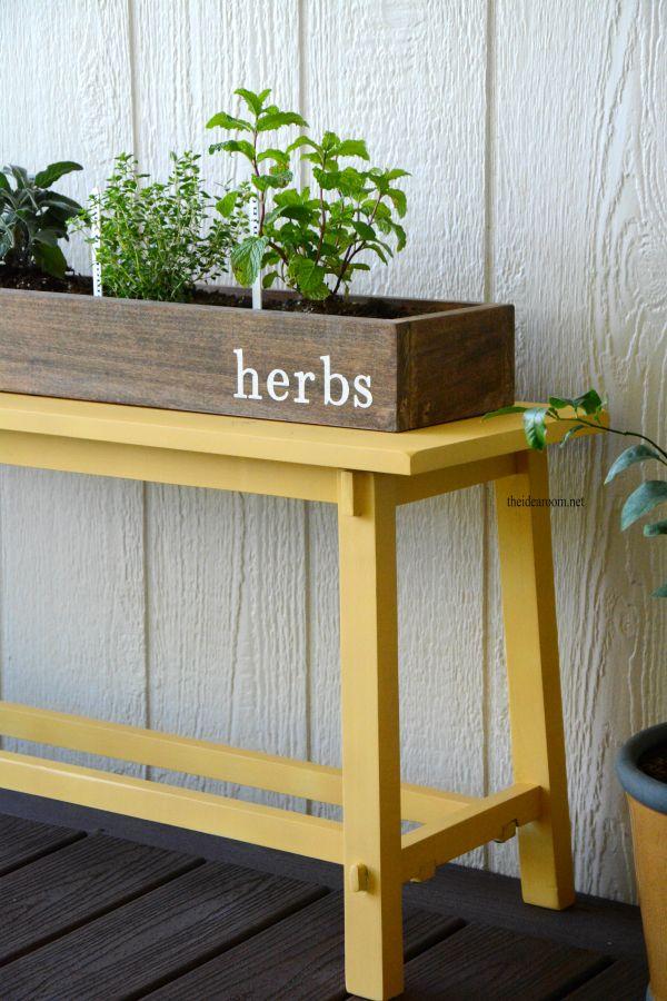 25 Best Ideas About Herb Garden Planter On Pinterest Herb