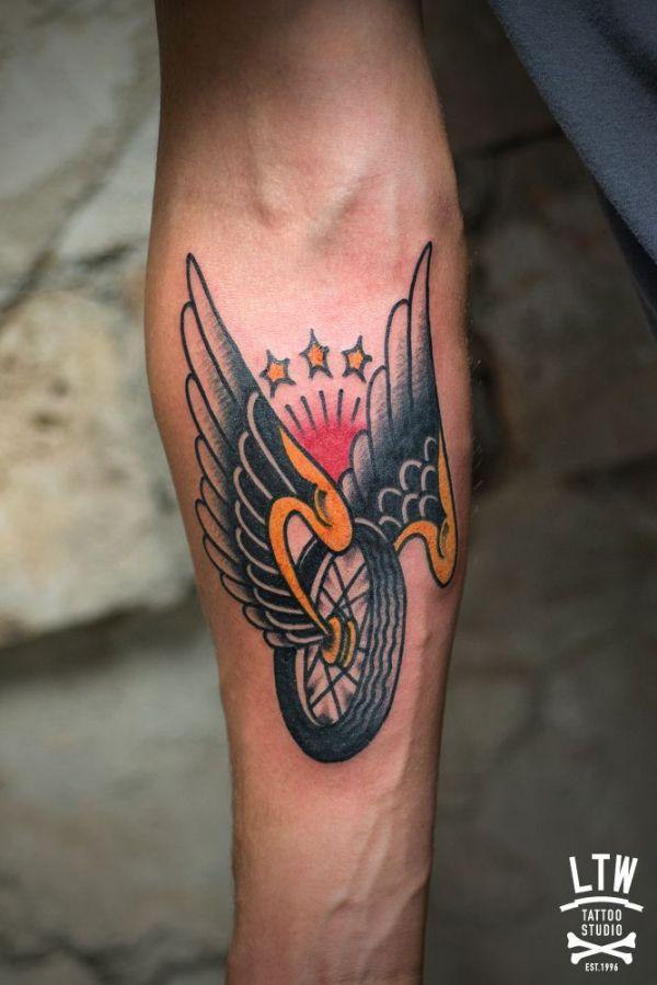 ideas biker tattoos
