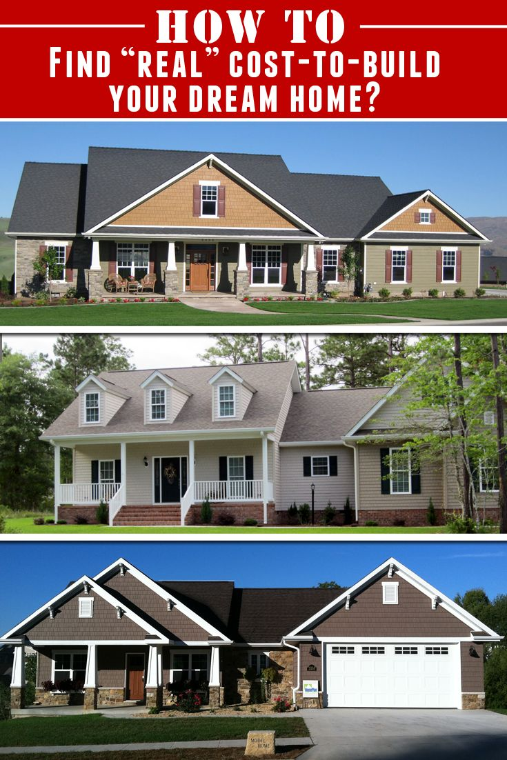 Always wanted to build your very own Dream Home but didnt know how how much it would costto