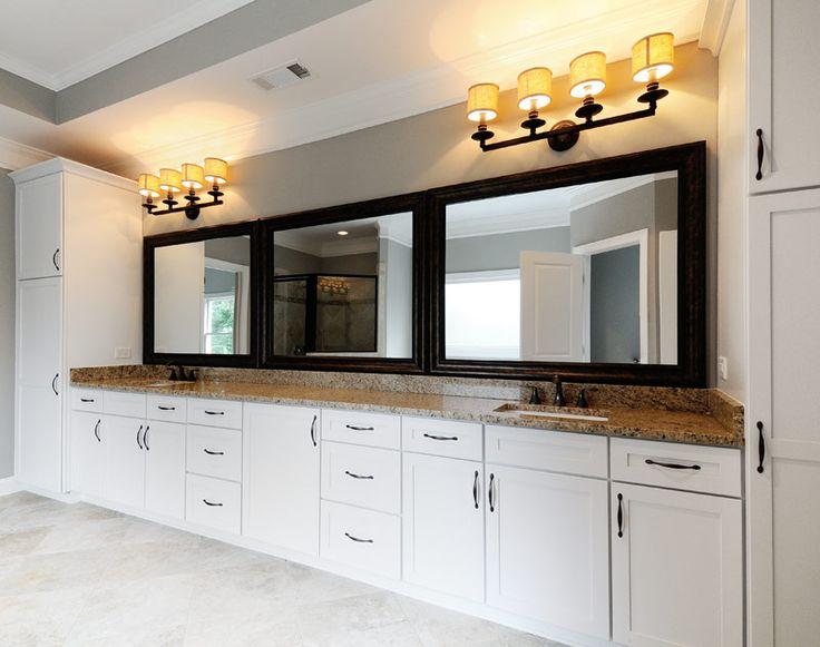 Merillat Classic Bath Cabinets Portrait Maple in White