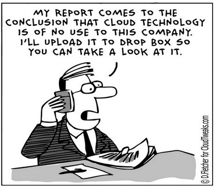 my report comes to the conclusion that cloud technology is