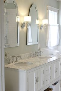 Sinks with Venetian mirrors and pretty sconces ~ | Master ...