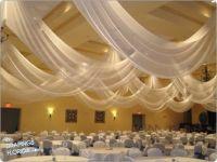 Wedding Ceiling Draping. LOVE IT!!! | Wedding Ideas ...