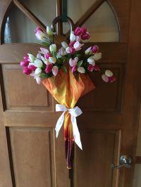 Spring umbrella door decoration | Crafts | Pinterest ...