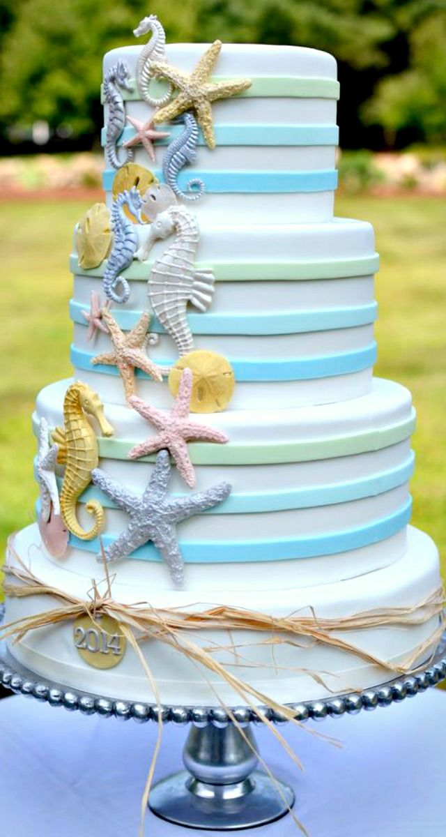 17 Best images about animal sea horse on Pinterest  Seahorse cake Ocean cakes and Cakes