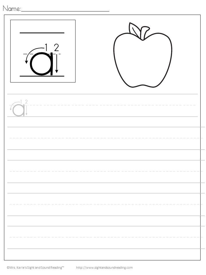 Best 25+ Handwriting Sheets ideas on Pinterest