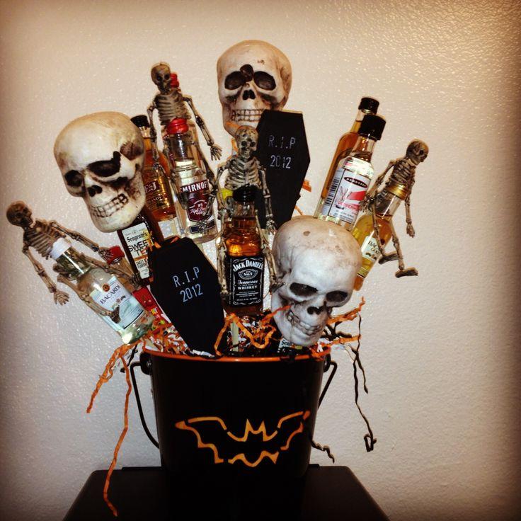 1000 Ideas About Mini Alcohol Bouquet On Pinterest