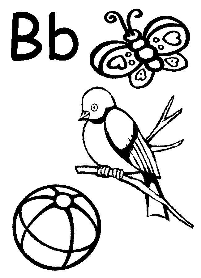 7 best images about Letter B Worksheets on Pinterest