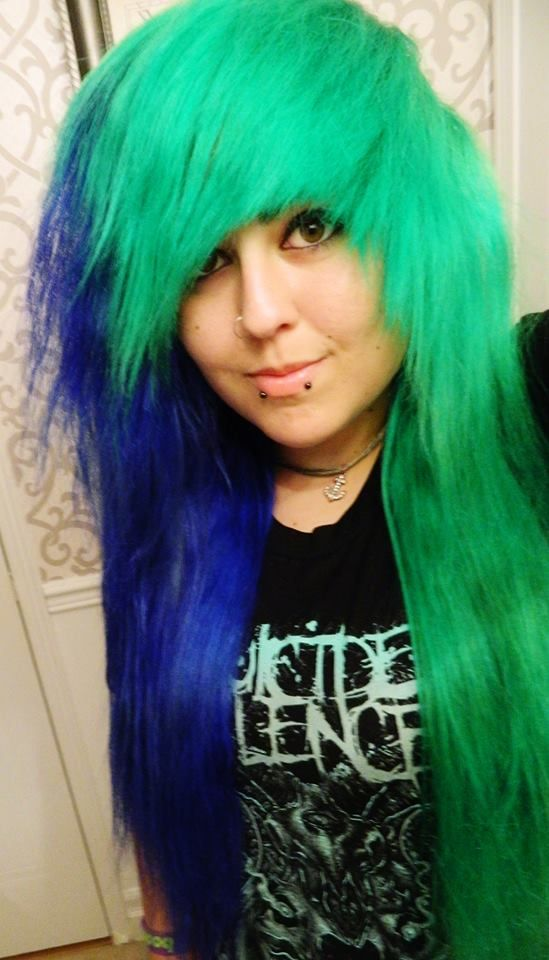 1000 Images About Green Hair On Pinterest Glow The