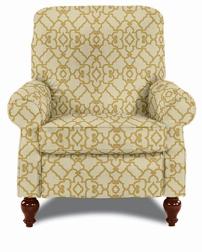 The Spindale High Leg Recliner by LaZBoy in a modern