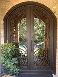 25+ best ideas about Iron doors on Pinterest | Iron front ...