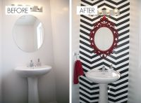 25+ best ideas about Chevron bathroom on Pinterest