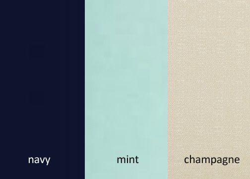 living room color schemes with navy blue wall decor for i invented this palette! navy/mint/champagne. think it ...