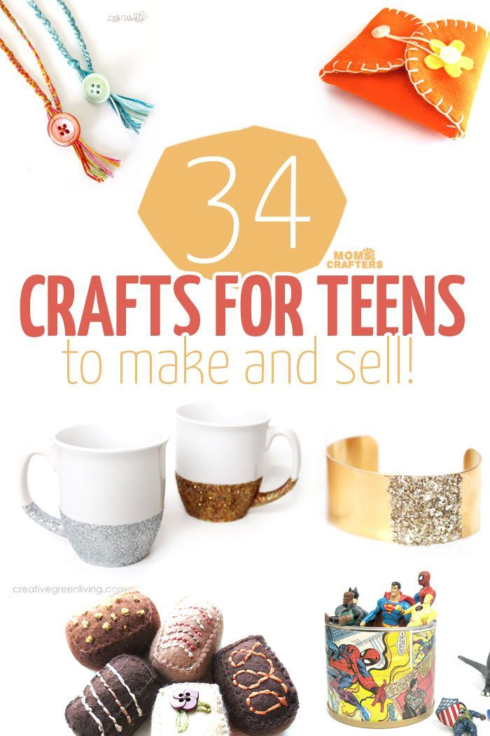 34 COOL crafts for teens to make and sell  Activities Crafts and Handmade
